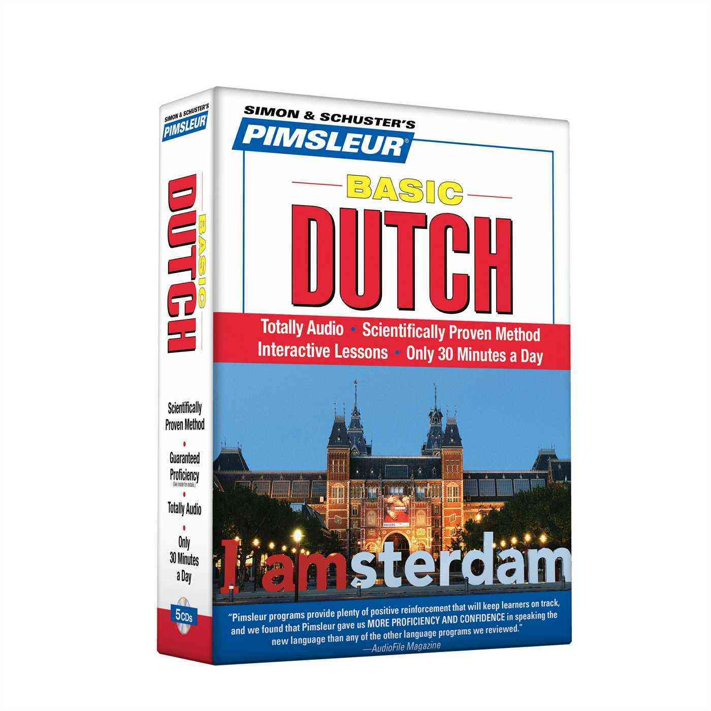 [CD] Pimsleur Basic Dutch By Pimsleur Language Programs